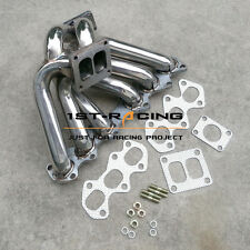 Turbo Manifold For Toyota Supra MKIV JZA8  Aristo V300 2JZGTE T4 Stainless Steel