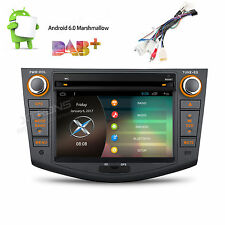 Quad Core Android 6.0 Car DVD Player For Toyota RAV4 2006-2012 GPS Navi Stereo