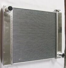 "CHEVY ALUMINUM UNIVERSAL RADIATOR 23"" x 19"" x 2.2"" GM OUTLETS HOT STREET ROD"
