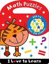 I Love to Learn Math Puzzles, Make Believe Ideas, Good Book