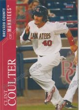 2016 Brevard County Manatees Clint Coulter RC Rookie Brewers