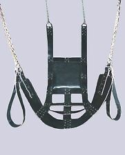 NEW HEAVY LEATHER SEX SWING/SLING FUN FOR ADULTS