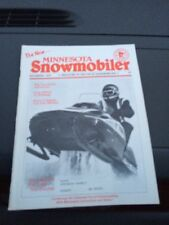 Nov 1975 Minnesota snowmobiler Magazine Arctic Cat Polaris Snowmobile Polaris