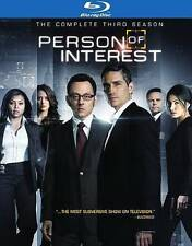 Person Of Interest ~ The Complete Season 3 Three Third Season Brand New Blu-ray