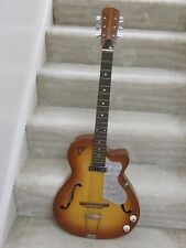 Vintage EKO Modello 100 archtop electric guitar-early 1960's,plays,sounds great!