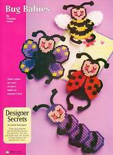 BUG BABIES BEE LADYBUG BUTTERFLY PLASTIC CANVAS PATTERN INSTRUCTIONS