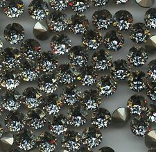 1088/SS39/GOP***6 STRASS SWAROVSKI FOND CONIQUE SS39(8,3mm) GOLD PATINA *x6