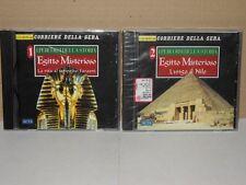 CD-ROM Egitto Misterioso Vol.1 La vita al tempo dei Faraoni, Vol.2 Lungo il Nilo