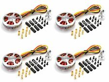 4 X 5010 750KV High Torque Brushless Motors For Multi-axis aircraft Quadcopter