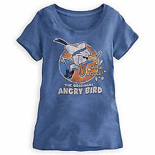 DISNEY PARKS DONALD DUCK The Original Angry Bird Tee Women Size XS New with Tags