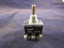 tend T5R-23B 15A 250V On-Off-On Position Toggle Switch (Spring Return-off) 6 Pin