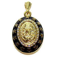 Napoleon Pendentif porte-photo Oeuf style Faberge pendentif porte-photo Napoleon