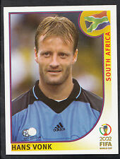 Panini Football - World Cup 2002 - Sticker No 153 - South Africa - Hans Vonk