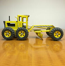 Vintage Tonka Tractor Construction Toy Metal Road Grader Good Shape