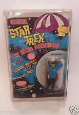 RARE 1974 AHI Star Trek TOS Sky Diving Parachutist Mr. Spock w/ Toy Protector