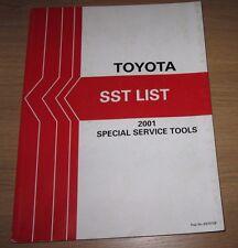 Werkstatthandbuch Special Service Tools Toyota Special Werkzeuge Ausgabe 2001!