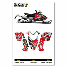 2005-2011 POLARIS RMK SHIFT DRAGON SCORCH GRAPHIC KIT BY ENJOY MFG