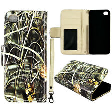 SAWGRASS  Kamo Wallet Flip magnet Apple iphone SE  S Leather   case cover