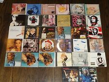 MADONNA 32 CD LOT Maxi-Singles, Remixes, Full Length Albums