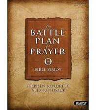 Battle Plan for Prayer (Bible Study Book) by Alex Kendrick (20 (FREE 2DAY SHIP)