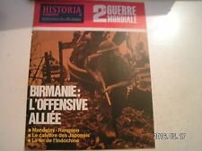 **a Historia Magazine n°411 Birmanie : Offensive allié / La fin de l'Indochine
