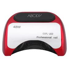 ABODY 48W CCFL+LED UV Lamp Light Beauty Salon Nail Dryer with Timer Setting K5A9