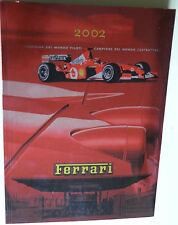 FERRARI OFFICIAL YEARBOOK  2002 ENGLISH  AND ITALIAN LANGUAGE
