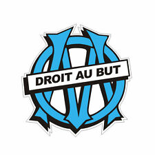 Sticker OLYMPIQUE de MARSEILLE - OM - FOOT - 9cm x 9cm