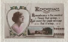 POSTCARD  ACTRESSES  Gladys Cooper   Remembrsnce