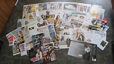 **LADY GAGA** MIX FRENCH NEWSPAPER & MAGAZINE CLIPPINGS *VERY RARE* PACK 1