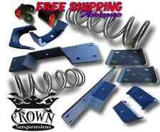 Crown Suspension 1997-2003 Ford F150 V8 3/5 Lowering Drop Coils Flip Kit