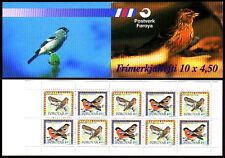 Faroe Islands 1997 Birds Booklet SG SB14 Redpolls & Bullfinches pane SG321a MNH