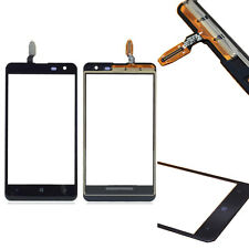 Outer Glass Panel Touch Screen Digitizer Replacement  For Nokia Lumia 625 Black