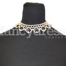 Pearl Choker Necklace Wedding Prom Bridesmaid Victorian Edwardian