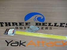 "Yakattack gear trac yellow 16"" GTSL90  dealer with hardware kayak fishing YW16"