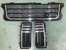 """2011 Range Rover L322 Grill Grille Side Vents Black SV autobiography Style """"Y4"""""""