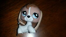 Littlest Pet Shop Beagle Blue Eyes RETIRED 2007 Great Condition Rare Authentic