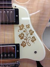 ES-335 SHORT 2010-11 Pickguard W/ES-295 Floral Design for Gibson Vintage Project