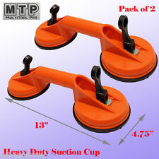 "2X  4-5/8"" Double Suction Cup Dent Puller Lifer Glass Remover Body Repair Stone"