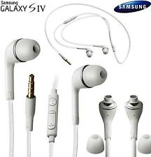 SAMSUNG HANDSFREE HEADPHONE EARPHONE WHITE FOR S6, A7, A5, J5, NOTE 4, 7 Edge +