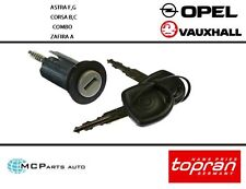 VAUXHALL ASTRA F G CORSA B C COMBO B ZAFIRA A TIGRA IGNITION LOCK BARREL & KEYS