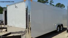 8.5 X 20' Enclosed Cargo Trailer - 2017 LARK Car Hauler