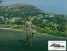 SEXY OLGA SCHOBEROVA THE VENGEANCE OF SHE  1968 VINTAGE LOBBY CARD #5