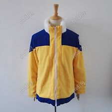 NARUTO Shippuden Uzumaki Naruto Ninja Cosplay Jacket Coat Winter cosplay Costume