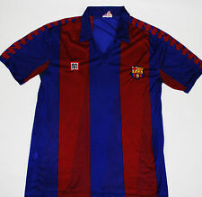 1984-1989 BARCELONA MAYBA HOME FOOTBALL SHIRT (SIZE L)