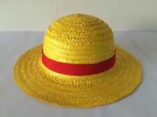 One Piece Monkey D Luffy Cosplay Straw Hat Cap One Size