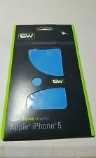 Slickwraps Glow Series Protective Film for iPhone 5 - Vivid Blue