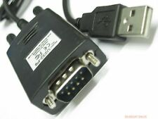 USB 2.0 TO 9PIN RS232 SERIAL DB9 com port CABLE ADAPTER