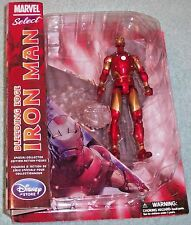 NEW/SEALED!! DISNEY STORE EXCLUSIVE MARVEL SELECT BLEEDING EDGE IRON MAN