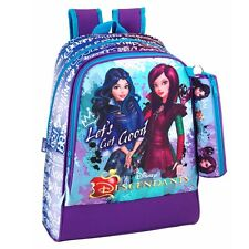 Premium Disney Descendants Large Backpack Rucksack + Pencil Case School Bag